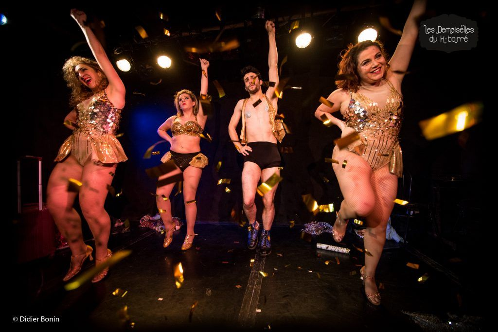 Cabaret burlesque final paris